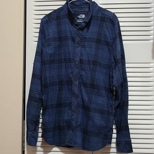 THE NORTH FACE LONG SLEEVE FLANNEL SHIRT